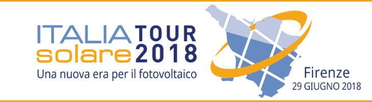 Italia Solare tour – 29 giugno Firenze: Impianti FV oggi e domani, nuove opportunità all'orizzonte