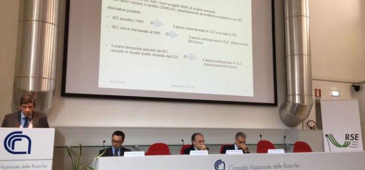 """Seminario CEI CT 82: """"Nuovi riferimenti normativi per testing e valutazione di conformità di moduli fotovoltaici"""""""