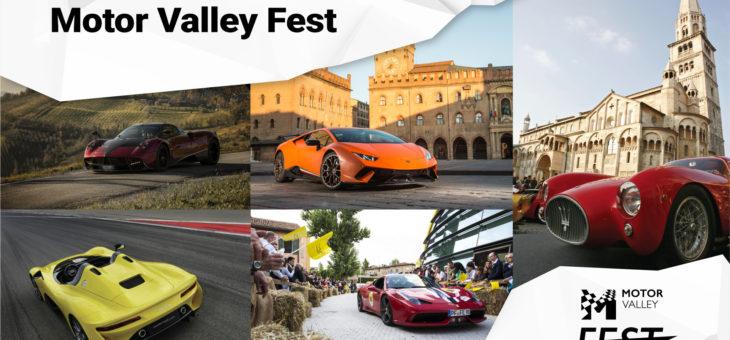 Motor Valley Fest: La grande festa della Terra dei Motori in Emilia-Romagna.16-19 Maggio | MODENA