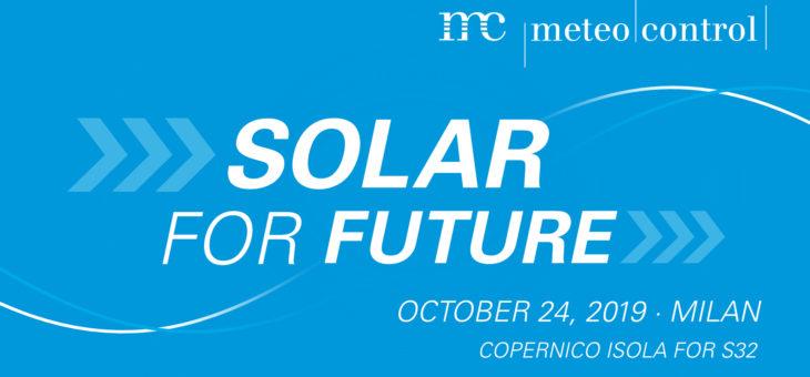 SolarForFuture: il workshop organizzato da Meteocontrol