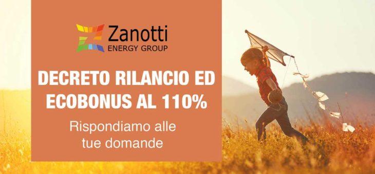 Decreto Rilancio ed Ecobonus 110%