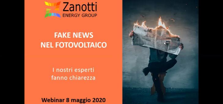 Fake News nel Fotovoltaico – Pagamenti GSE